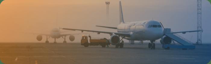 Schiphol vliegtuig