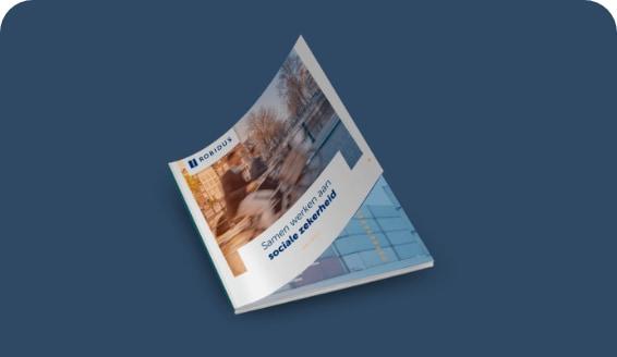 Robidus brochure blauw